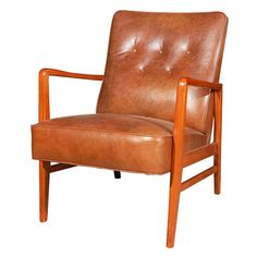 Pair of JO Carlsson Armchairs | From a unique collection of antique and modern armchairs at https://www.1stdibs.com/furniture/seating/armchairs/
