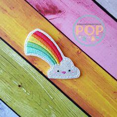 Digital Download Kawaii arco iris bordado por parkerontheporch