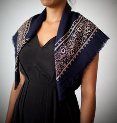 Items similar to Vintage dark blue scarf on Etsy Dark Blue, Trending Outfits, Unique, Stuff To Buy, Etsy, Shopping, Clothes, Vintage, Products