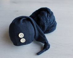 READY to ship Baby sleepy hat Newborn baby by MoonlightLittleKnits