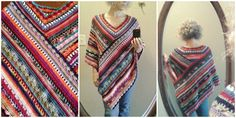 AWESOME CROCHET PONCHO FROM MOLLY. [FREE PATTERN]