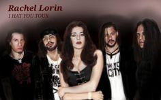 Rachel Lorin ...on tour