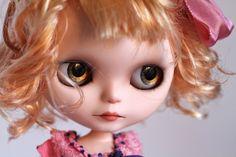 Soaki  custom ooak Blythe art doll by Mab Graves