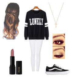 """Untitled #346"" by fangirlmuch on Polyvore featuring Topshop, Gucci, Vans and INIKA"