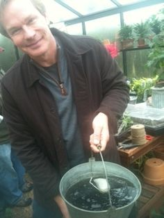 P Allen Smith trialing Authentic Haven Brand in his Greenhouse