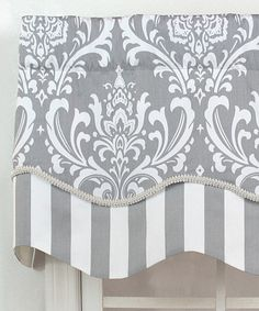 Adorn a window with this ornate valance panel to make a scenic view even prettier from the inside.