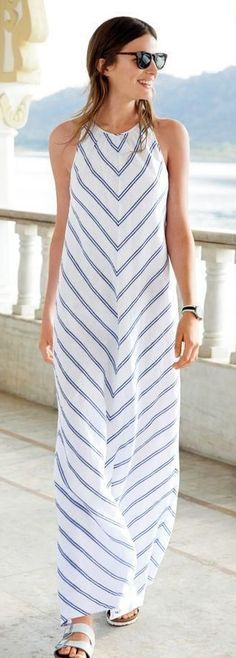 48 Beautiful Street Style Looks To Look Cool – Summer Outfits – Summer Fashion Tips Cute Maxi Dress, Dress Skirt, Dress Long, Maxi Dresses, Long Dresses, Beach Dresses, Long Summer Dresses, Maxi Skirts, Dress Formal