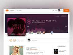 Soundcloud Song Layout / UI Challenge  Week 07 by Swapna Ranjita Nayak