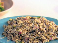 Enjoy this Orange-Pistachio Wild Rice Salad for a healthy and satisfying lunch!