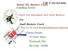 Boston MA Business Coach offers a good investment for individual practitioners and small businesses.