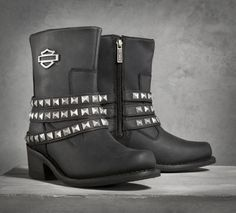 Kellyn Performance Boots Complete your look from head to toe with H-D® Performance footwear by Wolverine. The Kellyn Boots look great on or off the bike 98709-14VW