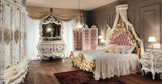 Its like an adult version of belle's room in Beauty and the beast!