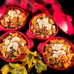 """Sicilian Shepherd's Pie, created by Brenda Watts , is a contender for cash prizes in our """"Get Wild w/ Wild Rice"""" recipe contest. Your recipe can be, too! Send it to our website link by July 5! #wildricecontest #wildricerecipe Minnesota Wild Rice, Wild Rice Recipes, Cooking Contest, Entree Recipes, Sicilian, Website Link, Paella, Entrees, Pie"""