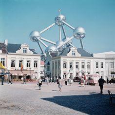 expo 58 Brussels Belgium, World's Fair, Expo, Czech Republic, Prague, Countryside, Images, Louvre, Mansions