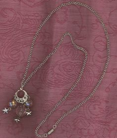 """Aurora Dawn"" Necklace from katsinger  http://katsinger.storenvy.com/products/5436256-aurora-dawn-necklace  Aurora, the goddess of the dawn, extends her rosy fingers and opens the gates of heaven*Mother of the Winds, she renews herself every morning and flies across the sky, announcing the arrival of the sun. Time now for you to rise, renewed, open the gates, and announce the arrival of all things bright and beautiful. Time now for the ""Aurora Dawn""."