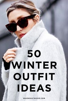 50 Amazing Winter Outfit Ideas to Try Now : 50 next-level outfits to get you through the rest of winter. Fall Winter Outfits, Winter Wear, Autumn Winter Fashion, Estilo Fashion, Ideias Fashion, Winter Looks, Winter Style, Look Cool, Winter Wardrobe