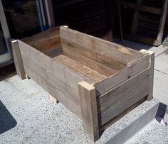planter made from pallets - Google Search