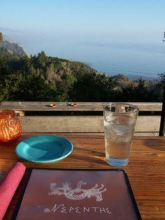 Nepenthe Restaurant - Big Sur, California