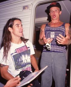 Red Hot Chili Peppers' Anthony Kiedis & Flea