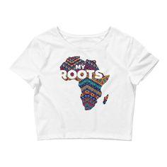 New* My Roots Women's Crop Tee
