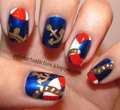 Simple Nail Polish Designs At Home - http://www.mycutenails.xyz/simple-nail-polish-designs-at-home.html