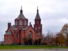 Vaasa Orthodox Holy Nikolaos church.
