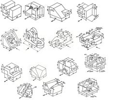 21 Best Isometric & Technical Drawing Samples images