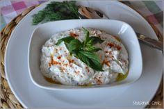 A Seasonal Cook in Turkey: Haydari - a Minty Yogurt Dip with Garlic. need to drain the yogurt first - was far too wet Eastern European Recipes, European Cuisine, Middle Eastern Recipes, Turkish Recipes, Ethnic Recipes, Greek Yogurt Recipes, Vegetable Drinks, Veg Recipes, Drink Recipes