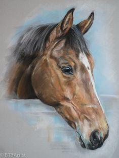 Pastel Horse by BTBArtist