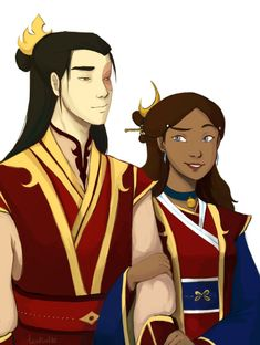 "te-al-latte: "" Day 1 - Fire Lady After breakfast, the Fire Lord and Fire Lady always walks in the palace side by side. Most of the time, Zuko just listens and lets Katara do all the talking. My stupid ass thought that Zutara week starts on Monday, so..."