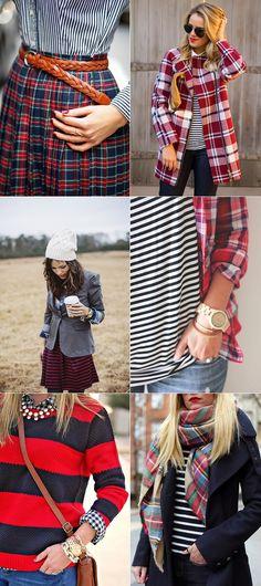 exPress-o: Stripes + Plaid