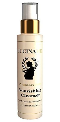 Face Skin Care Lucina MD Pregnancy Safe Nourishing Cleanser  with Anti Oxidant Power Vitamins E  F Wheat Germ Seaweed  Grapefruit Extract for Incredible Hydrating and Nourishing Benefits -- Be sure to check out this awesome product.