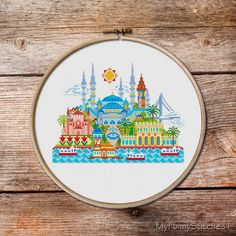 Pretty Little Istanbul pretty little cities by MyFunnyStitches1