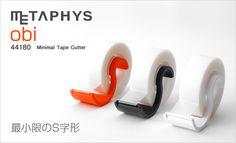 【楽天市場】【ポイント最大9倍】【テープカッター】METAPHYS(メタフィス) obi(オビ)ミニマルテープカッター 小巻テープカッター 文房具 シンプル デザイン:セレクトショップ・AQUA(アクア)