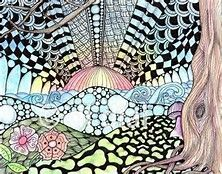 Zentangle Art Color - Bing images