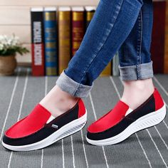 65bdc2c8d132 Shoe Type  Casual Shoes Toe Type Round Toe Closure Type  Slip On Heel