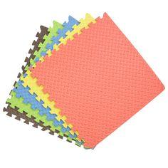 EVA kids foam plain floor mats for laminate flooring antislip play mats