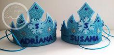MAR DE PAPEL: Dos coronas de Elsa