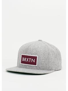 Brixton Snapback-Cap Rift grey