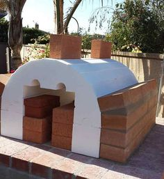 Sybesma Family Wood Fired Outdoor Pizza Oven in California by BrickWood Ovens