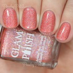 Glam Polish POP! | Knockout Collection Part 2 | Peachy Polish
