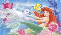 Ariel desktop background