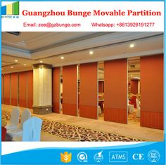 Top Hanging Folding Partition Wall With Sliding Door