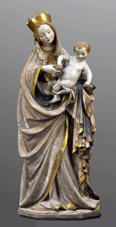 Beautiful Madonna from Wrocław by Bohemian or Silesian Master, ca. 1390, Muzeum Narodowe w Warszawie (MNW)