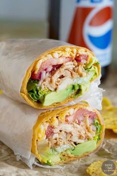 Chicken Wraps Looking for an uncomplicated lunch idea? These BBQ Chicken Wraps can be ready to go in 10 minutes if you keep shredded chicken on hand!Hand in Hand Hand in Hand may refer to: Healthy Shredded Chicken Recipes, Good Healthy Recipes, Healthy Foods To Eat, Healthy Eating, Shredded Bbq Chicken, Healthy Appetizers, Rotisserie Chicken, Delicious Recipes, Bbq Chicken Wraps