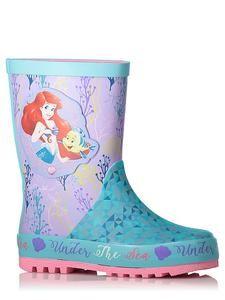 Disney Little Mermaid Ariel Rain Boots