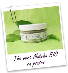 Thé vert Matcha du Japon BIO en poudre Aroma-Zone Natural Cosmetics, Cantaloupe, Fruit, Drinks, Face, Plants, How To Make, Beauty Products, Matcha Green Tea Latte