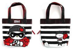 Hello Kitty Love Bandit Tote Bag