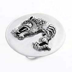 Inel din argint din argint realizat manual Lupul Dacic - simbol al inteligenței, dreptății și nesupunerii.  Există în stoc măsurile 52, 53, 55 și 57.  Cod produs: CI4979 Greutate: 13.49 gr. Lungime: 3.50 cm Lățime: 3.50 cm Circumferință inel: 52 mm Lapis Lazuli, Topaz, Rings For Men, Plates, Tableware, Jewelry, Diamond, Licence Plates, Men Rings