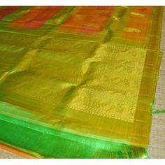 Kanchipuram Pure Silk Saree (KNC-VKM-005)